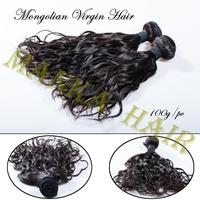 Mongolian Virgin Hair Grade 5A Human Hair Weave natural Curl no tangling no shedding virgin natural curly hair 1pc/lot 8-28inch