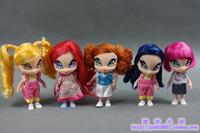 Free Shipping New Orginal  Winx Club  Kids Toys Kawaii Mini Dolls For Girls 12cm