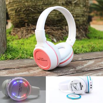 Wholesale Bulk Price Wireless Multi Function Headphones,Black/White FM Radio Card  Read Head phone Headset Earphone for Computer
