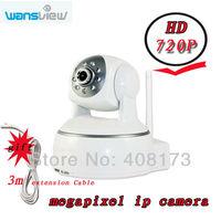 wansview netural camera NCM624 h.264 720P MegaPixel HD Wireless IP Camera with Pan/Tilt SD Card Slot and IR Cut