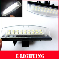 No Error Xenon White 18SMD LED Number License Plate Light for Toyota Camry Aurion Prius Lexus IS300 LS430 GS430 RX330 ES300