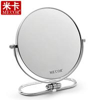 Querysystem mica makeup mirror double faced desktop mirror 8 Large portable folding princess table mirror