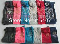 2013 NEW arrival women  high Quality Velvet  Tracksuits  ladies korean likes pink sportswear