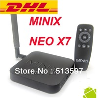 MINIX NEO X7 DHL EMS FEDEX FREESHIPPING Quad core RK3188 2G 16G TV BOX Android 4.2 rk3188 MINI PC SET TOP BOX