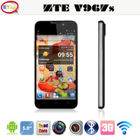 Original ZTE V967S 5 Inch QHD 960x540 Mtk6589 Quad core Dual SIM 5.0MP Camera Multi Language Android4.2 Smartphone