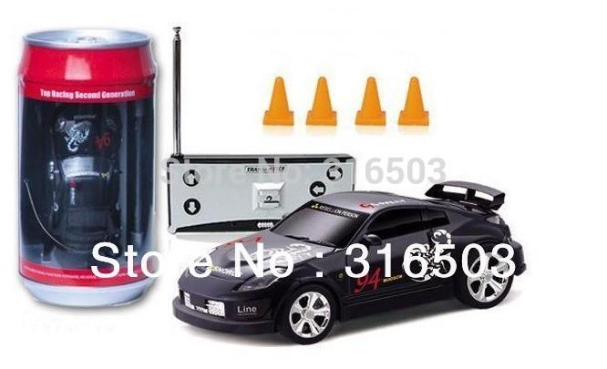Magic Touring rc car 1:63 scale Coke Can rc mini car Radio Control +free shipping by singapore post(China (Mainland))