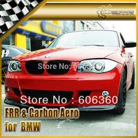 For BMW 1-Series E87 Carbon Fiber Front Bumper Splitter Front Lip (2Pcs)