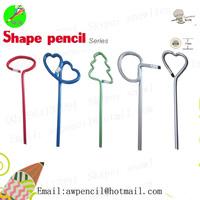 Customized apple shape pencil LH-331,ex-factory price