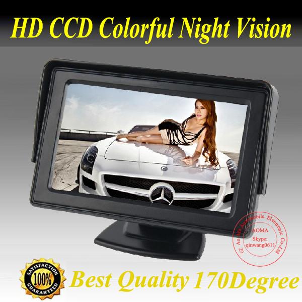 Автомобильный монитор 4.3 TFT LCD монитор tft 19