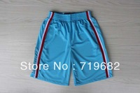 Free Shipping,2013 New Material Rev 30 Los Angeles Basketball Shorts,Embroidery and Sewing Logos,Size S--XXL,Mix Order