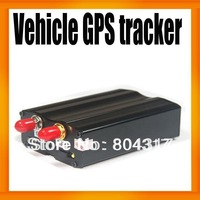 FreeShipping Real Time Vehicle GPS tracker TK103 Cutting Engine GSM/GPS/GPRS 850/900/1800/1900MHZ