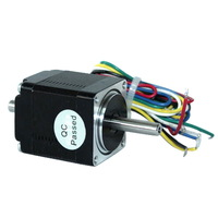 33mm Long 1.8-Degree 4 Leads Wire 2 Phase Dual Shaft Double Axis Step Stepping Stepper Motor