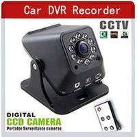 Night vision Carcam Car dvr camera Recorder digital CCTV Camera Portable Surveillance Motion Detection Camera AV OUT VM-226A