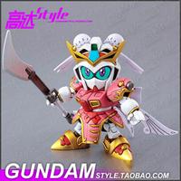 326 Shangxiang SD BB Fighter Q version of the Three True Sangokuden Gundam  robot model building