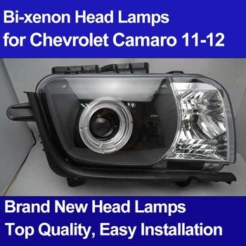 2012 Chevrolet Camaro Headlights Assy with Angel Eyes