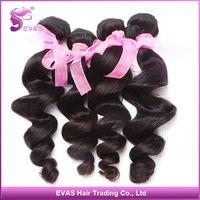 DHL Free shipping Queen hair products peruvian loose wave mixed length 3 pcs lot peruvian virgin hair extensions