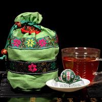 Scraper Xiangshou shipping Pu'er Tuo small number of new benefits lotus leaf grade Pu'er ripe tea 50 tea leaves