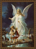 The spot Free shipping Diy diamond painting Guardian Angel resin square drill cross stitch new arrival  50*80cm