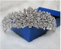 Big Love star models understated luxury  tiara bridal crown