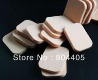 White and Skin color  Rectangle  SBR powder puff,  makeup puff, facial puff, cosmetic sponge 20pcs/lot