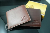 Promotion! Quality assurance Cowhide wallet,Men's genuine pu wallet,man leather lines purse wallet for men whosale price