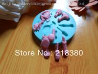 wineglass hair dryer cake molds cake pan wholesale hot sale chocolate silicone mold fondant Cake decoration mold