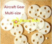 20pcs/lot,M0.3+70T Aircraft Gear,Gear shift,Plastic,Precision rack,Motor gear,bore diameter 1mm,Free shiping