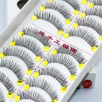 new 2014 makeup necessaries false eyelashes natural transparent