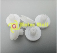 20pcs/lot,15*10.5*2.05 Plastic Pulley,Pulley Accessories,Strap 10-tooth gear,Free shipping