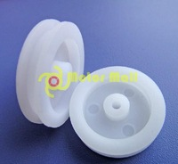 20pcs/lot,20*4*1.9mm Plastic Pulley,Small pulley,Models Wheels,Pulley Accessories,Technology small production,Free shipping