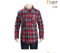 okcasual autumn summer plaid british style kids girl teen boys children long sleeve tshirts blouse outerwear hoodies  PFCS03P83