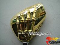 For Kawasaki Z KZ 400 550 650 750 900 1000 KZ550-C LTD KZ650-D SR Skull Mirrors G