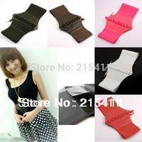 1Pc New Fashion PU Leather Womens Ladies Wrap around Tie Corset Cinch Waist Wide Belt