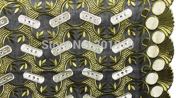 Venda handcut casamento SL0267 frete grátis Africano Swiss Lace Voile de algod?o bordado de alta qualidade strass Pano Têxtil !