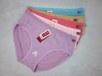 Free Shipping! (5PCS/lot) Women Lingerie Underwear Ladies Panties Cotton Plus Size Briefs Mid Waist 10 Colors