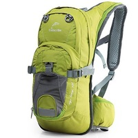 Outdoor riding backpack woman bag man bag water-proof  solide zipper bag