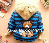 2013 new children boys cartoon fleece jackets sweater coats baby kids fashion winter warm hoody sweater clothing