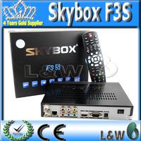 Fedex Free shipping 10pcs  Skybox F3S HD Set Top box Mini HD receiver Fedex Free Shipping