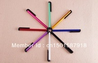 Free shipping!!1000pcs Mini Stylus Touch Pen with plastic material, capacitive touch pen for mobile phone , tablet pc