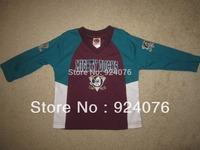 Vintage ICE Hockey Jerseys Anaheim Mighty Ducks Jerseys Toddler Jersey STITCHED, Custom Any Number, Any Name Sewn On (XXS-6XL)