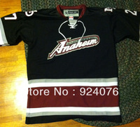 Vintage ICE Hockey Anaheim Mighty Ducks Koho made in Canada Jersey STITCHED, Custom With Any Number, Any Name Sewn On (XXS-6XL)