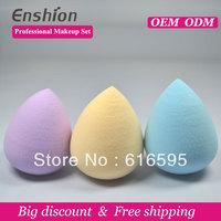 Big diccount!!  Enshion high quality cheap makeup puff, makeup sponge ball, egg makeup sponge free sample