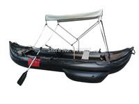 Goethe GTK420 Inflatable Fishing Kayak with canopy