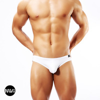 U male panties low-waist briefs bag sexy breathable male 3 temptation white