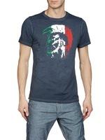 free shipping 2013 new arrivel fashion brand men t shirt cool dag print cotton male tshirt design o-neck t-shirt for man clothes