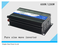 HOT SALE!! 600W/1200W DC48V to AC100V Pure sine wave inverter/invertor/inversor(CP-P-600W)