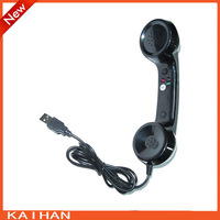 Hot high quality USB 2.0 Phone Telephone Internet Handset Skype VOIP Product    Factory outlets Free Shipping