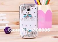 Luxury 3D Rhinestone Bling Diamond Dragonfly Case Cover for Samsung Galaxy S7562/S5830/i8150/i9100/i9300/i9220/n7100/9070