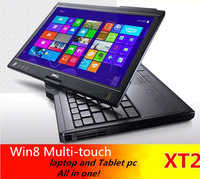 time-limited used laptops fromd e l l xt2 12 inch multi-point touch capacitive screen u7600 2g/100g wifi windows7 tablet pc