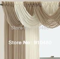 beautiful sheer curtain valance waterfall swag valance   W 60 cm * H 50 cm free shipping